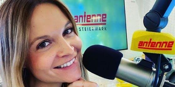 """Seit Oktober 2020 moderiert Verena Kicker für die """"Antenne Steiermark"""""""