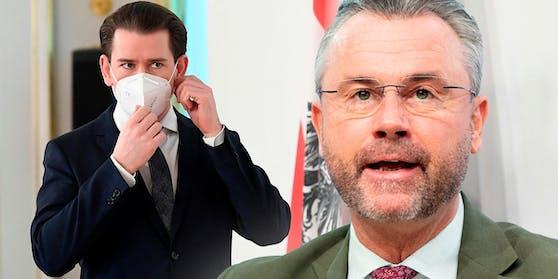 """Razzia bei """"Hygiene Austria"""": FPÖ-Chef Norbert Hofer sieht Kanzler Kurz in der Verantwortung"""