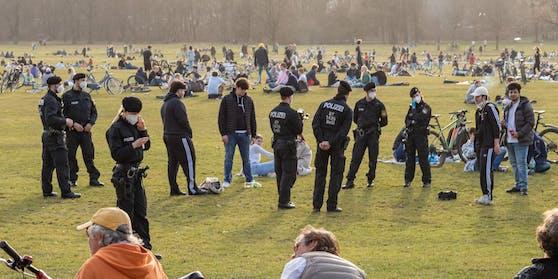 In München gehen die Polizisten derzeit besonders streng vor.