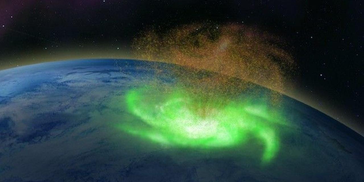 Forscher entdecken gewaltiges Phänomen über der Erde - Heute.at