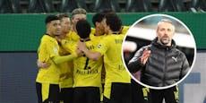 Halbfinale – Dortmund wirft künftigen Trainer Rose raus