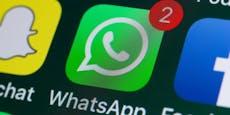 Instagram, WhatsApp und Facebook über eine Stunde down
