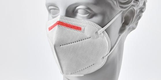 """Stammt diese FFP2-Maske """"made in Austria"""" in Wahrheit aus China?"""