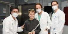 Nach Hundebiss operiert – Bub (10) spielt für Ärzte auf