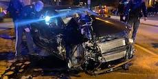 Audi-Fahrer crasht in VW – Wienerin landet im Spital