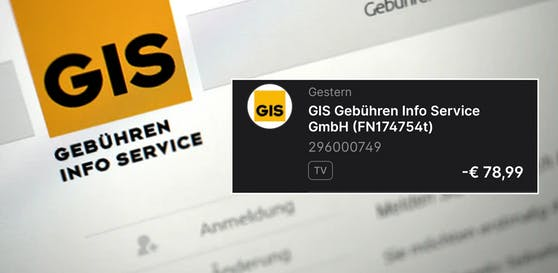 Für einen jungen Wiener riss diese GIS-Rechnung ein großes Loch in seine Finanzen.