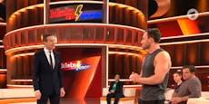 Austro-Youtuber reißt bei TV-Sendung Hose im Schritt