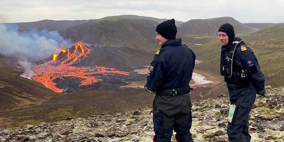 Auf Island ist am späten Freitagabend der Vulkan Fagradalsfjall ausgebrochen.