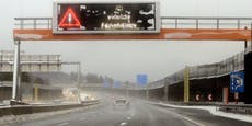 Wiener Außenring Autobahn nach Sperre wieder offen