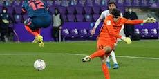 Tormann-Tor rettet Sevilla einen Punkt bei Valladolid