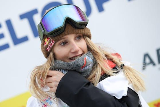 Snowboarderin Anna Gasser gewann zum zweiten Mal den Gesamtweltcup.