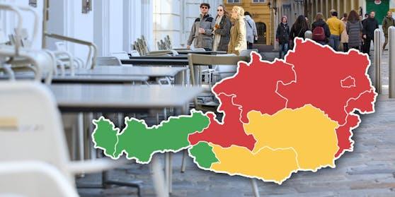 Österreichs Bundesländer sollen in drei Kategorien eingeteilt werden.