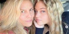 """Heidi Klum über Leni: """"Wir sind beide ziemlich dumm"""""""