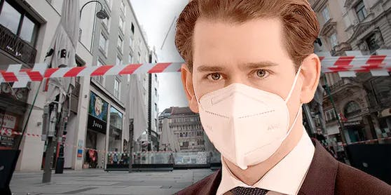 Sebastian Kurz verkündet am Montag die Lockdown-Verschärfungen