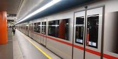 Person auf U4-Gleis gestiegen – Betrieb unterbrochen
