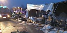 Migranten sterben bei Lkw-Crash in Kroatien
