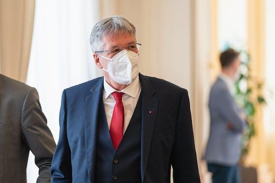 Kärntens Landeschef Peter Kaiser
