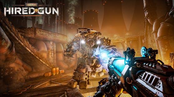 """""""Necromunda: Hired Gun"""" angekündigt - FPS erscheint im Juni 2021."""