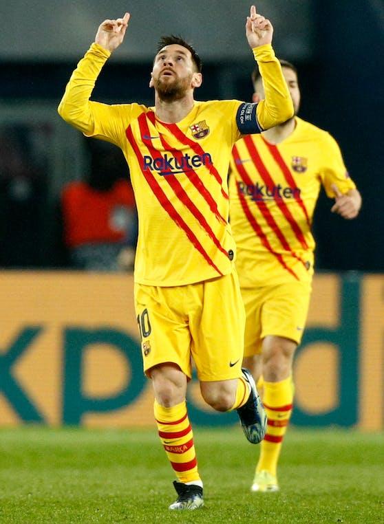 Lionel Messi: 16 Tore und sieben Assists 2021