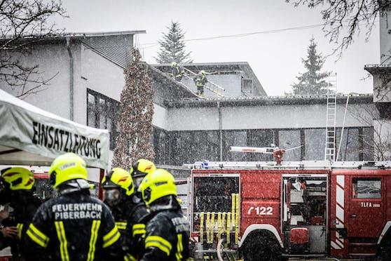Die Feuerwehr wurde Samstagnachmittag zum Einsatz zur VS Neuhofen/Krems gerufen.