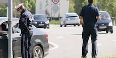 Lenker (42) donnerte mit 2 Promille in Streifenwagen