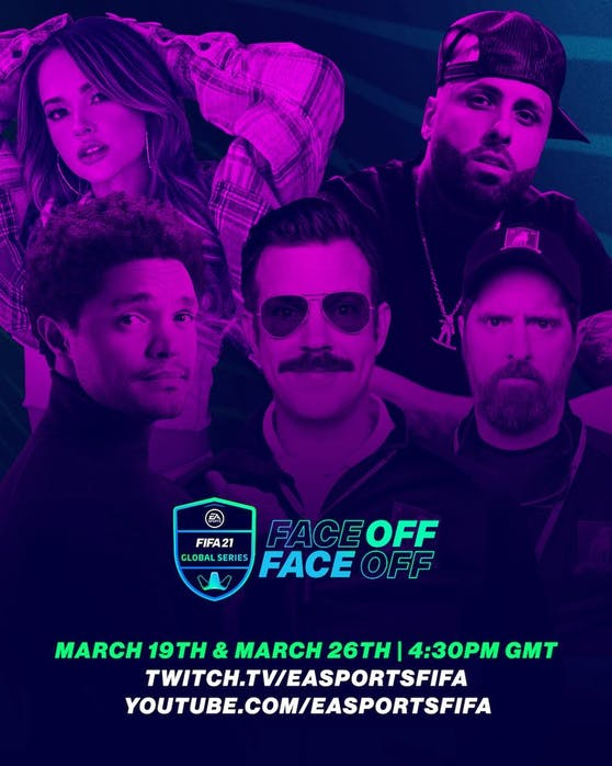 "Premiere der Community-Show ""EA Sports FIFA Face-Off""."