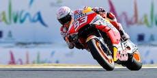 MotoGP-Star Marquez kann noch immer nicht fahren