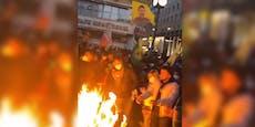 Wilde Feier in Wiener City eskaliert in Prügelei