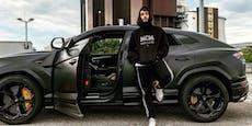 Flippt er völlig aus? Rapper Samra will Lambo schrotten
