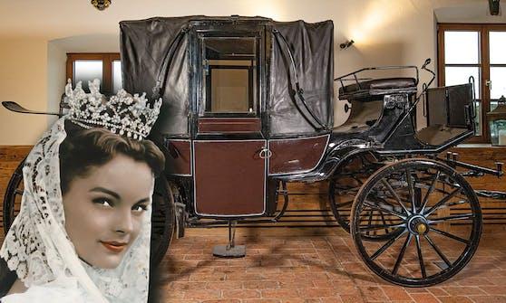 Am 01. April kann die Kutsche aus der Siss-Filmreihe ersteigert werden.