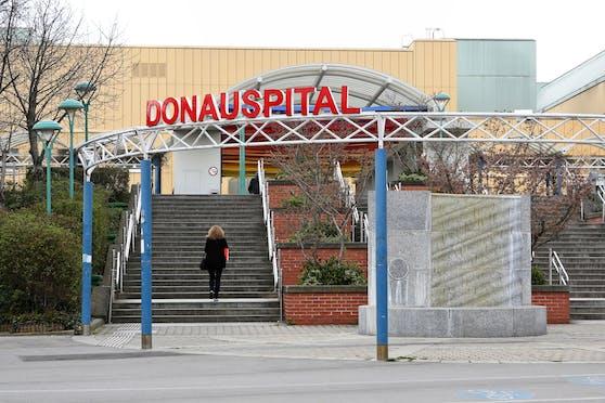 Die Klinik Donaustadt (früher SMZ Ost – Donauspital) in Wien