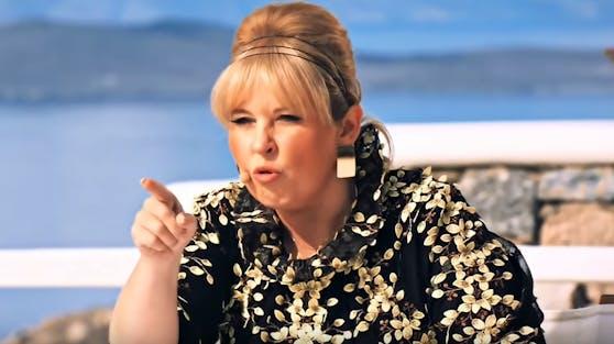 DSDS-Jurorin Maite Kelly macht in der letzten Recall-Folge Kandidatin Katharina für das Scheitern von Teilnehmer Marvin verantwortlich.