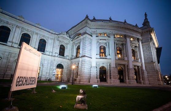 """Das Burgtheater wird am Samstag Ausgangspunkt einer """"Kunstgebung"""", eines Protests von Künstlern, sein."""