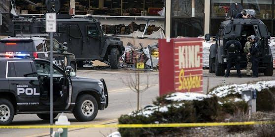Ein Schütze hat am 22. März 2021 im US-Bundesstaat Colorado zehn Menschen getötet.