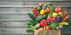 Karte zeigt, welches Obst und Gemüse gerade Saison hat