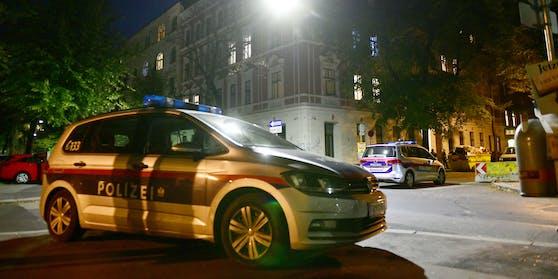 Polizei in der Wiener Ybbsstraße (Symbolbild)