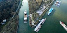 Melker Hafenspitz kostet fünf Millionen Euro