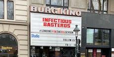 """Wiener Burg Kino wirbt für """"Infectious Basterds"""""""