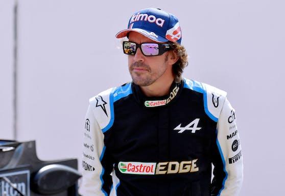 Alpine-Pilot Fernando Alonso