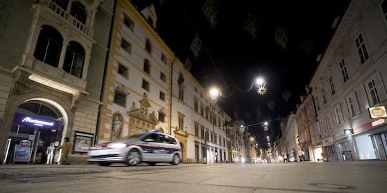 Die Grazer Polizei fahndet nach einem flüchtigen Täter