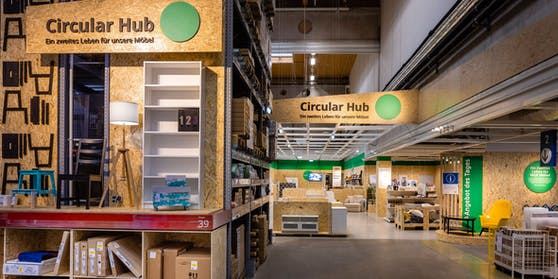 """Ikea setzt zunehmend auf Nachhaltigkeit, gebrauchte Möbel bekommen die Chance auf ein """"zweites Leben""""."""
