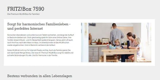 Mit der Fritz!Box 7590 setzt Österreichs größter Provider ab sofort breitflächig auf den DSL-Premium-Router von AVM.