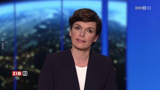 SPÖ-Chefin Pamela Rendi-Wagner in der ZiB2. Archivbild vom 25. März 2021