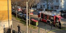 Feuerwehr rückte zu Zimmerbrand in Wien-Hietzing aus