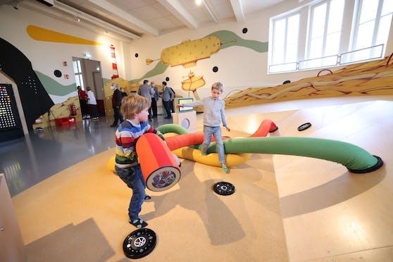 """Im Technischen Museum Wien in Rudolfsheim-Fünfhaus wurde gestern der neue Familienbereich """"miniXplore"""" eröffnet."""