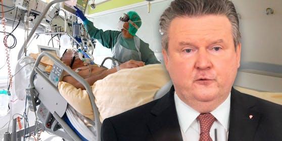 Michael Ludwig möchte eine Überbelastung der Wiener Intensivstationen verhindern