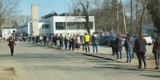 Massenansturm auf Teststationen im Bezirk Neunkirchen