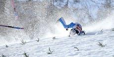 """Schwerer Sturz von Skisprung-Star """"eigener Fehler"""""""