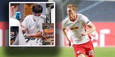 Wegen diesem Foto muss Leipzig-Star DFB-Team verlassen