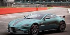 Sondermodell: Aston Martin Vantage F1 Edition